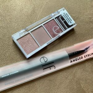 e.l.f. Eyeshadow & Angled Eyeliner Brush